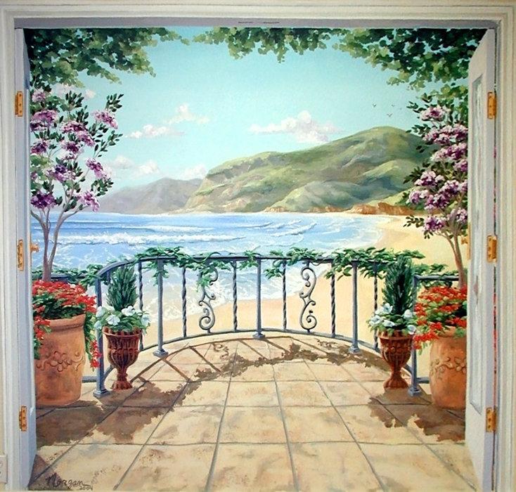 Фрески ручная роспись стен и потолков